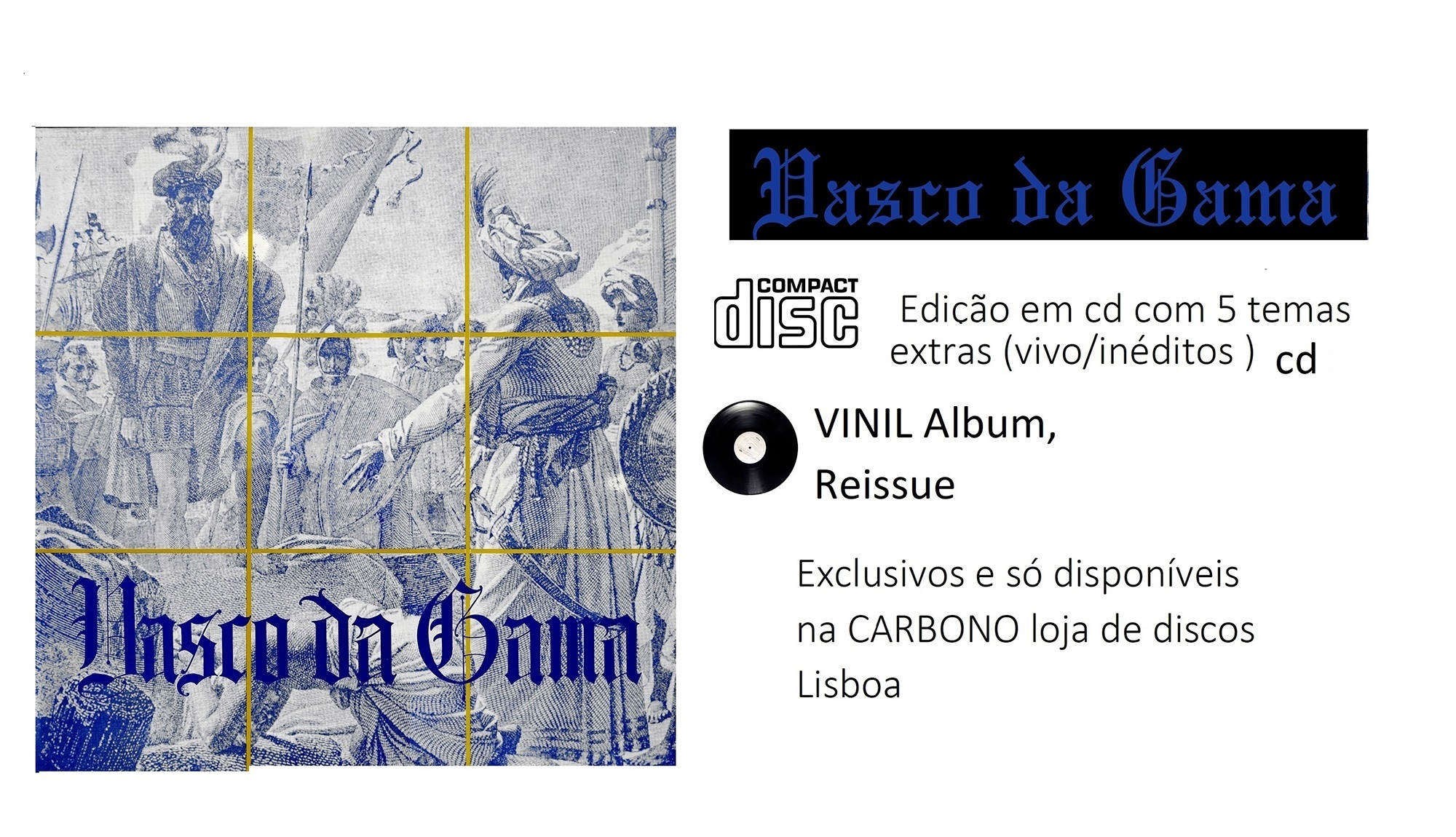 Vasco da Gama  Lp CD